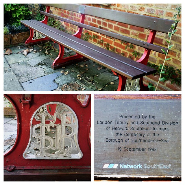 LTSR logo on refurbished bench.