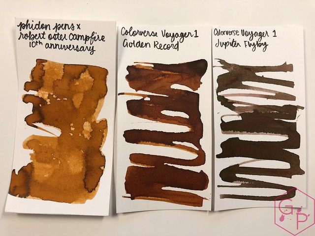 Robert Oster Campfire Ink Review for Phidon Pens 10th Anniversary 19