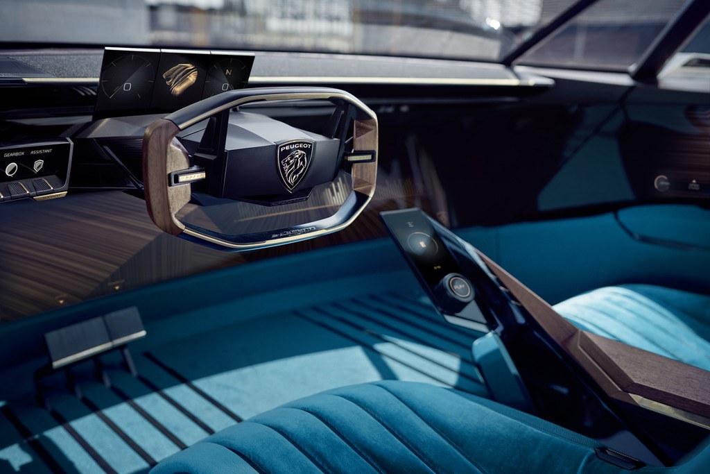 Peugeot e-Legend Concept 2