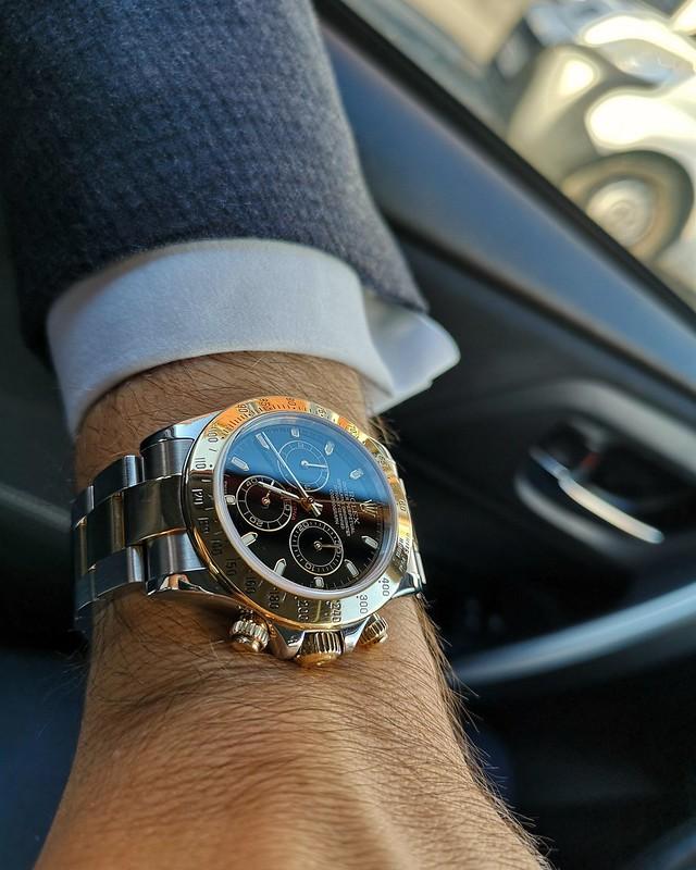 Daytona - [Vendue] Rolex Daytona 116523 cadran noir. 10500€ 29889368167_828e3d1e4a_c