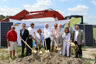 Constellation & Town of Ocean City Ground Breaking Solar Project