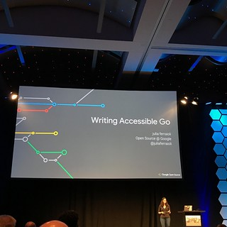 GopherCon 2018 Accessibility in Go