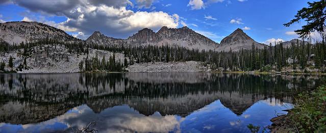 Sawtooths High Mountain Lake, Nikon D750, AF-S Nikkor 28-300mm f/3.5-5.6G ED VR