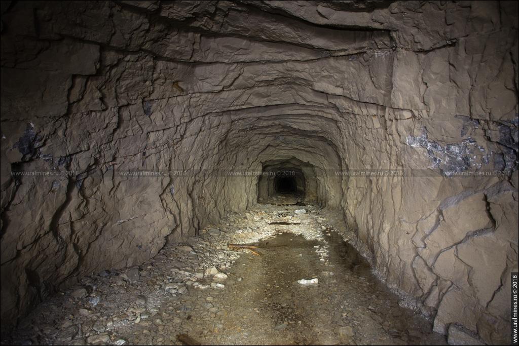 Вишневогорский рудник: штольня №1 горы Каравай