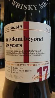 SMWS 36.149 - Wisdom beyond its years