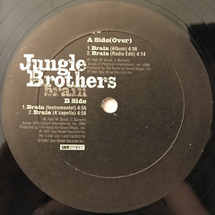 JUNGLE BROTHERS:BRAIN(LABEL SIDE-B)