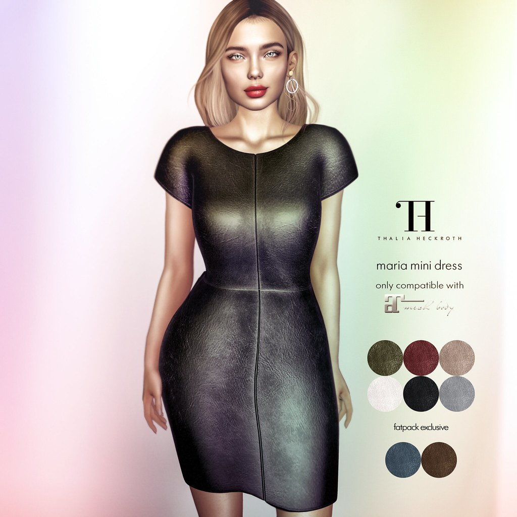 Thalia Heckroth – Maria mini dress (Maitreya)