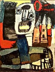 Saut dans l'espace (1953) - Karel Appel (1921-2006)