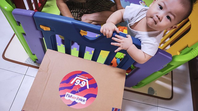 Lazada x Fisher Price Surprise Box