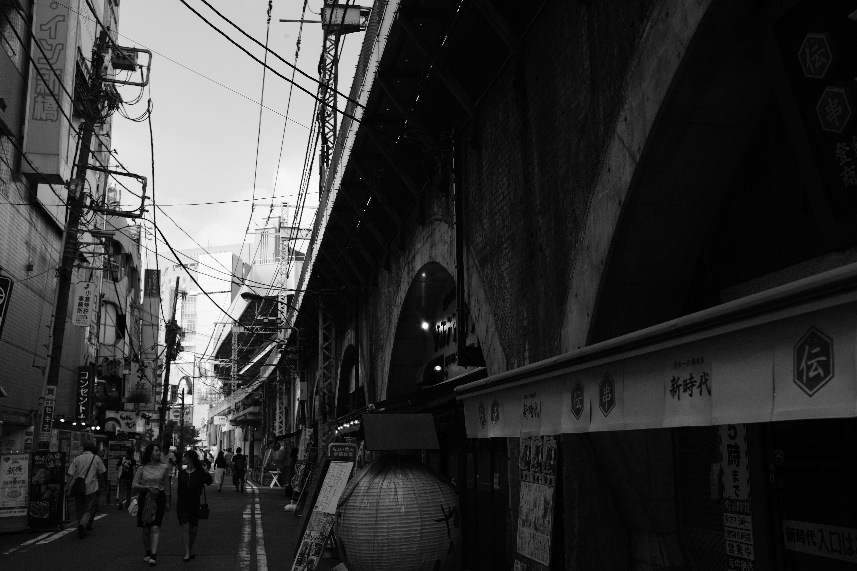 Shinbashi Underpass