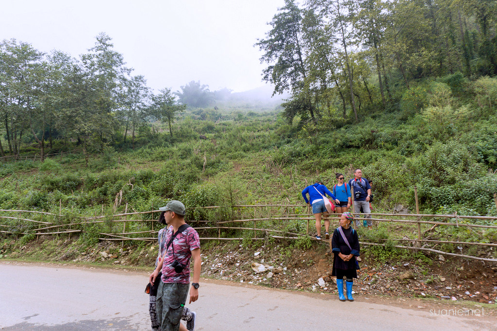 Sapa trekking - illegal entry