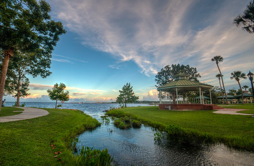 greencovesprings florida fla landscape sunset green cove springs water