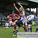 Matt Bradley clears under pressure from Thomas McCrone -1344