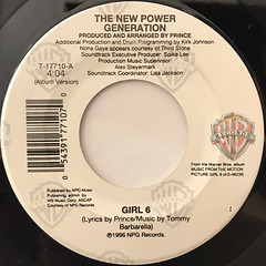 THE NEW POWER GENERATION:GIRL 6(LABEL SIDE-A)