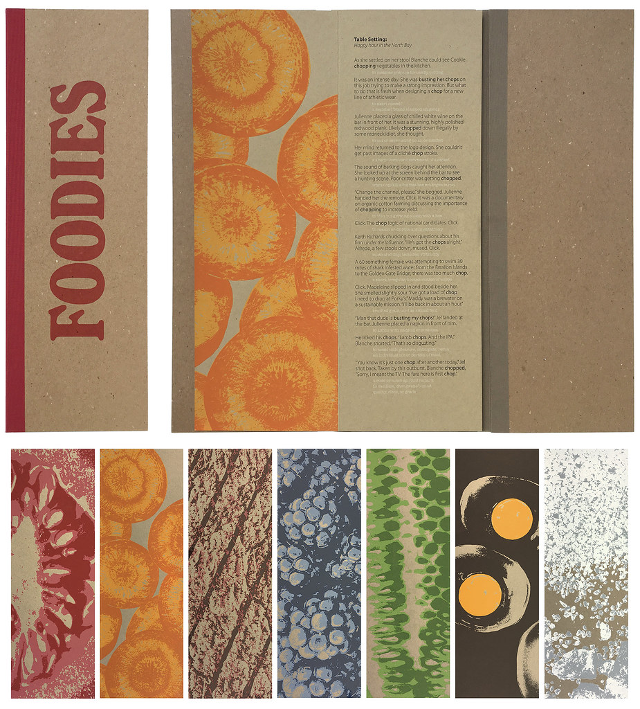Kent Manske and Nanette Wylde   Foodies, 2017 Letterpress, w…   Flickr