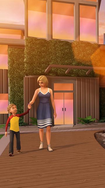 Distrito da Costa Chegou ao The Sims Mobile