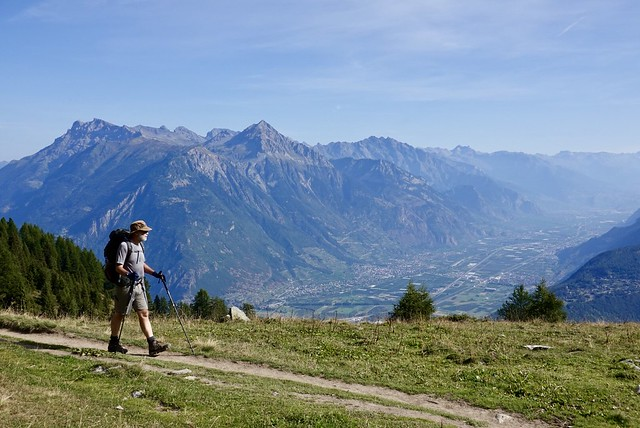 Above the Rhône Valley