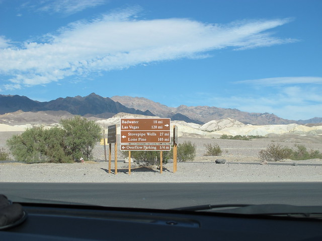 Indicaciones en la carretera
