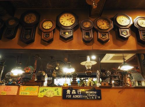 青森駅前・珈琲店マロン_青森駅前・珈琲店マロン_壁掛け時計