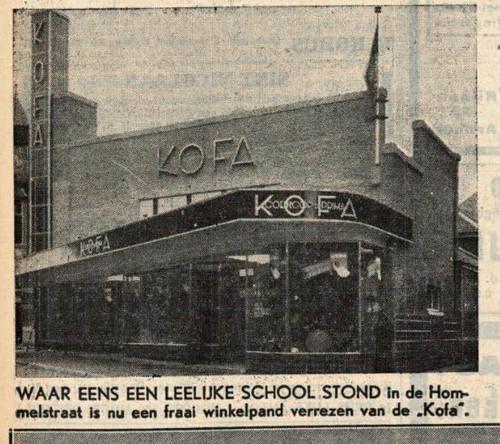 KOFA aan de Hommelstraat,1933