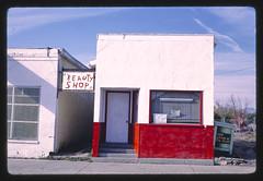 Beauty Shop, Main Street, Browning, Montana (LOC)