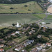 North Foreland Lighthouse in Kent - aerial uk