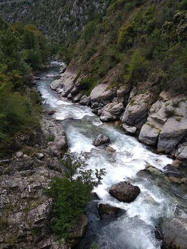 Roya river, alpes maritimes France
