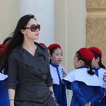 Competition: 18/09/2018 - PDI. League 1. Open. Korean Teacher and her Pupils by John Reddington