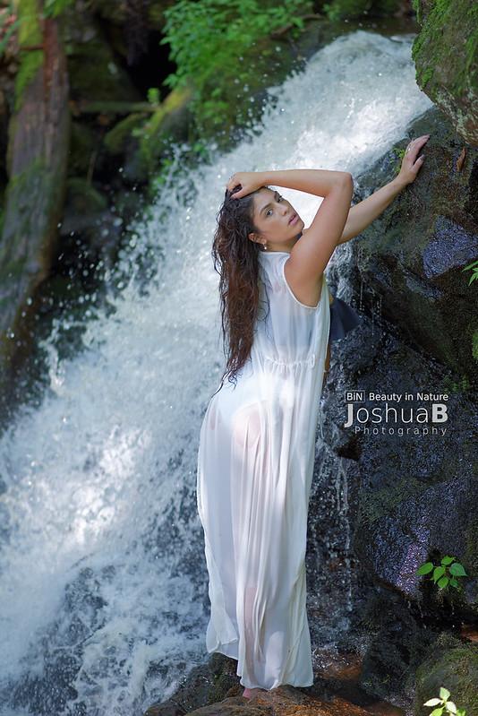 Maya Adele at Garwin Falls