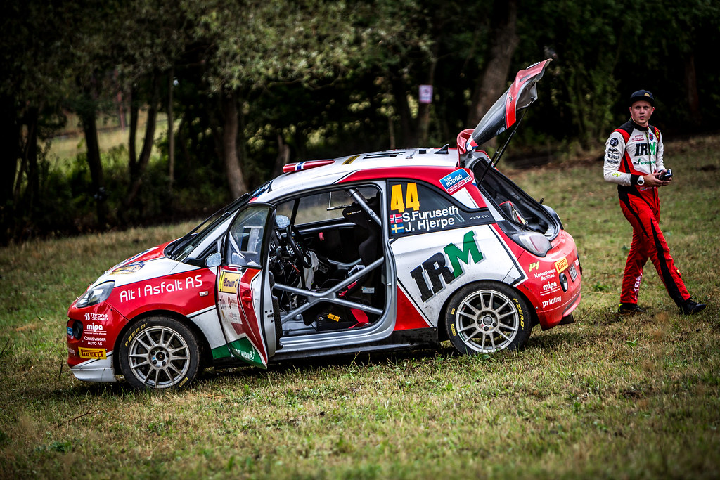 44 Furuseth Sindre, Hjerpe Jim, NOR/SWE, Opel Adam R2, ambiance during the 2018 European Rally Championship ERC Barum rally,  from August 24 to 26, at Zlin, Czech Republic - Photo Thomas Fenetre / DPPI