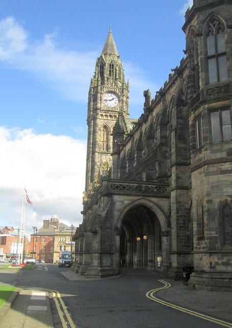 Rochdale Town Hall Facade