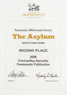 Asylum 2018 Ooutstanding Club Publication award