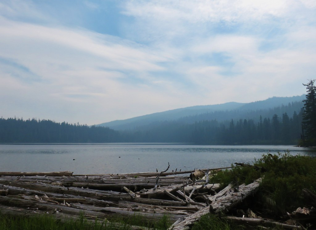 Waldo Mountain from Lower Eddeeleo Lake