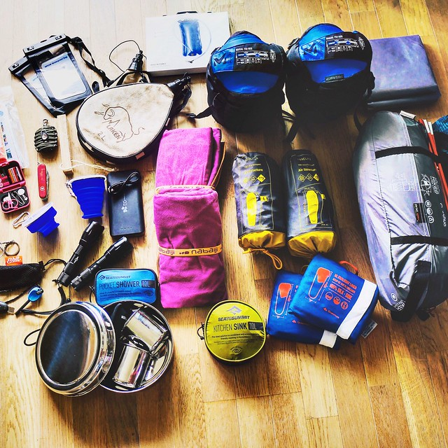travel backpacker material inmybag, Panasonic DMC-GX7, Lumix G Vario 14-45mm F3.5-5.6 Asph. Mega OIS