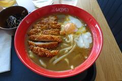 Curry Udon + egg @ Ukiyo @ Geneva