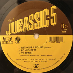JURASSIC-5:JAYOU(LABEL SIDE-B)