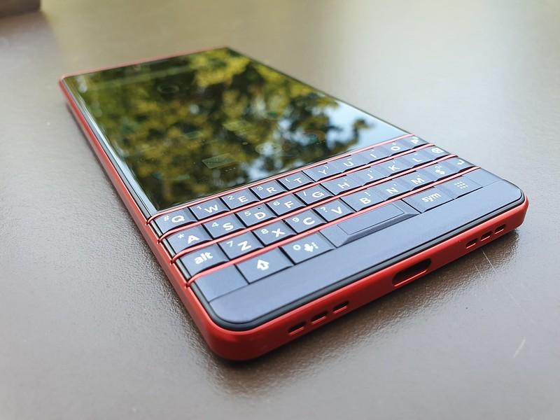 BlackBerry Key2 LE at IFA 2018