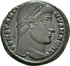 Constantine I Follis reverse