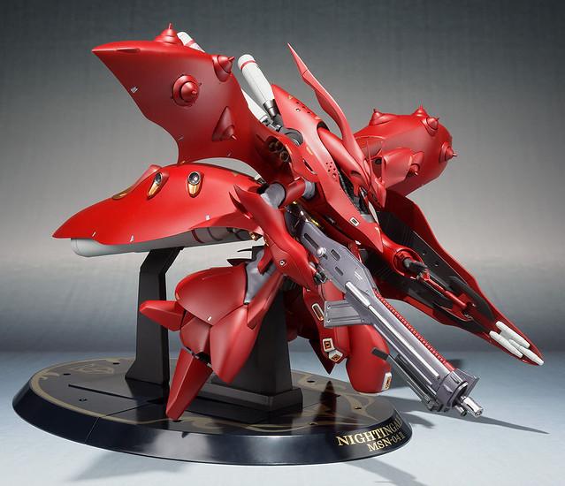 【更新官圖&販售資訊】ROBOT魂 <SIDE MS>《機動戰士鋼彈 逆襲的夏亞 貝托蒂嘉的子嗣》MSN-04II 夜鶯(重塗裝規格)ナイチンゲール(重塗装仕様)