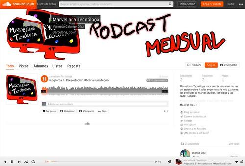 Donde subir un podcast. SoundCloud