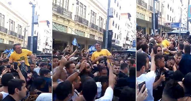 """Ataque a Bolsonaro es """"respuesta de odio"""" a quien """"predica el odio"""""""