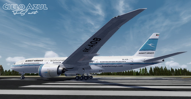 Kuwait Airways (9K-AOB) v2.5