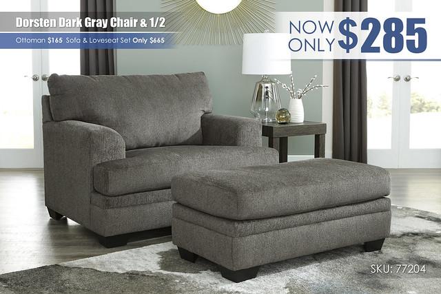 Dorsten Chair & Half_77204-23-14