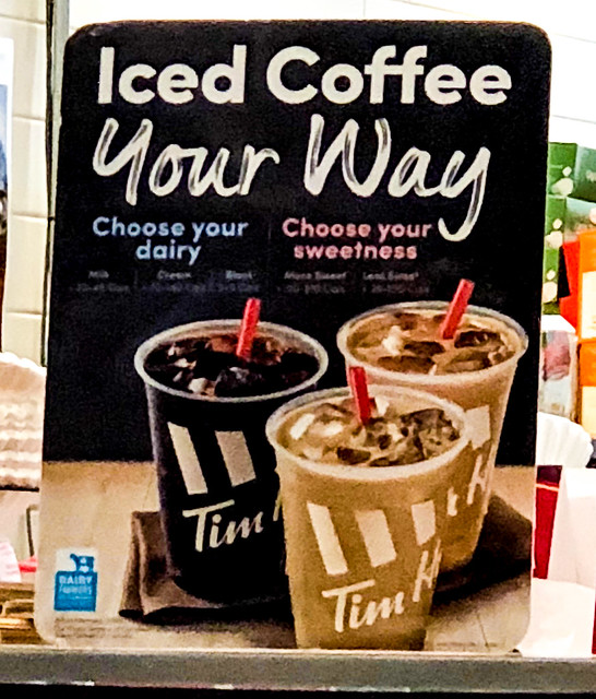Suzie The Foodie Spy's Tim Hortons DIY Iced Decaf Coffe