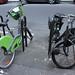 Deux générations de deux-roues