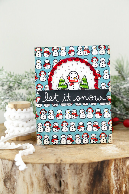 so many snowmen (Lawn Fawn inspiration week)