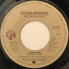 MICHAEL MCDONALD:I KEEP FORGETTIN'(LABEL SIDE-B)