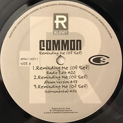 COMMON:REMINDING ME(OF SEF)(LABEL SIDE-A)