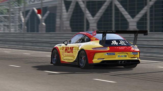 Porsche GT3 Cup - Carrera Cup Asia 2018 - van der Drift - Singapore (3)