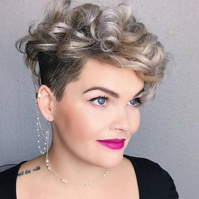 Best Bold Curly Pixie Haircut 2019- 50 Hairstyle Inspirations 2